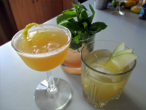Image of three cocktails