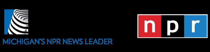 michigan radio and npr logos